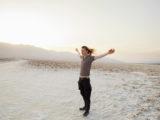 Tim, Badwater Basin, Death Valley